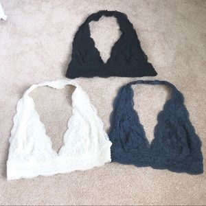 BUNDLE Urban Outfitters Lace Bralettes